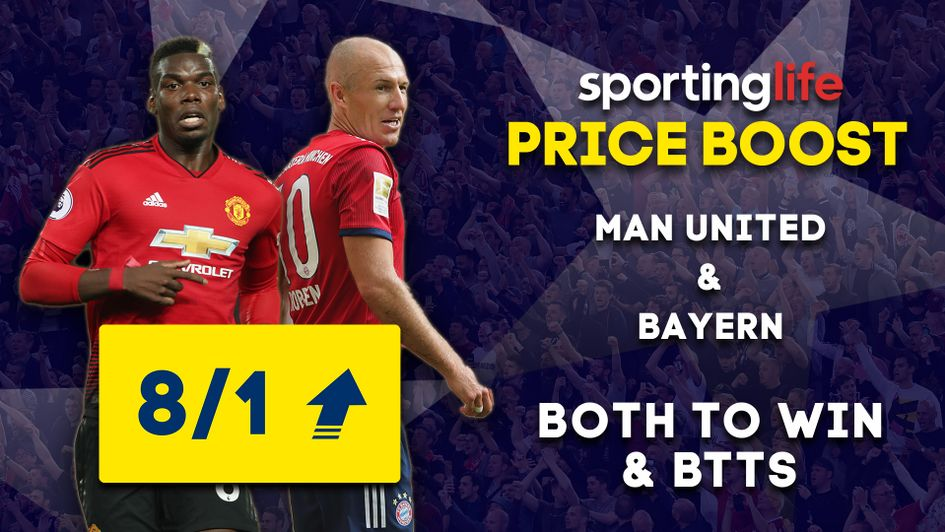 Sporting Life Price Boost: Sky Bet enhance odds on Champions League