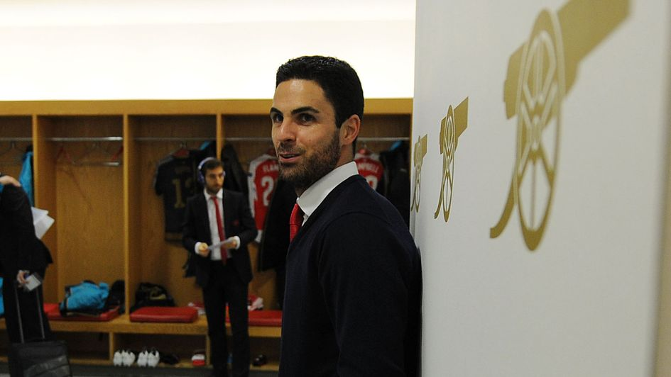 Mikel Arteta: The 36-year-old is expected to hold talks with Arsenal about replacing Arsene Wenger