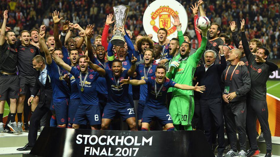 United Europa League Winners