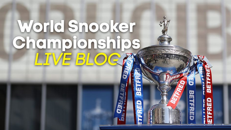Follow the World Snooker final live with us