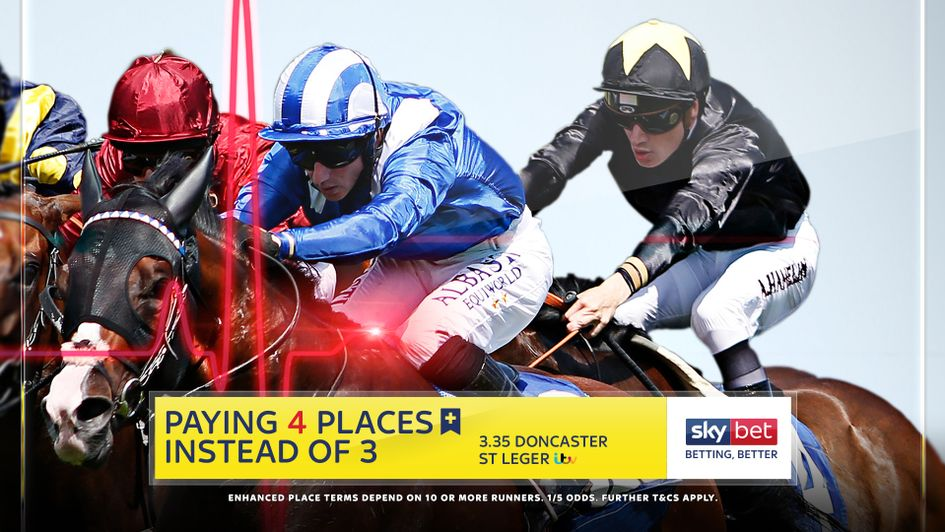 Sky Bet are paying an Extra Place in Saturday's St Leger