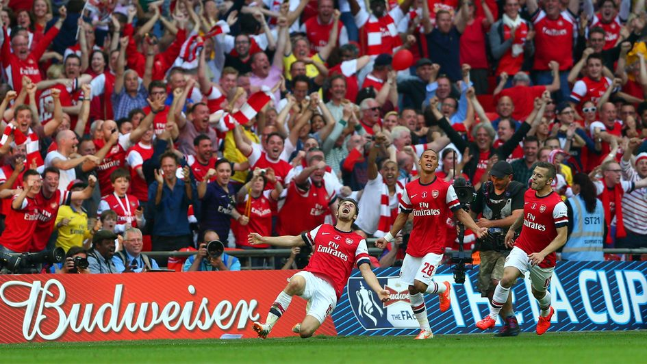 2014: Arsenal 3 Hull 2 (after extra time)
