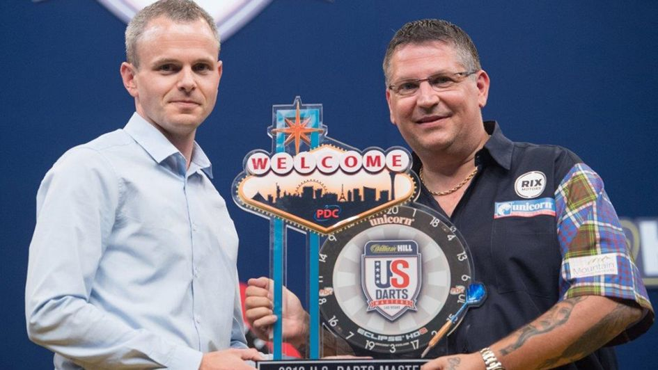 Gary Anderson is the US Darts Masters champion (Picture Tom Donoghue/PDC)