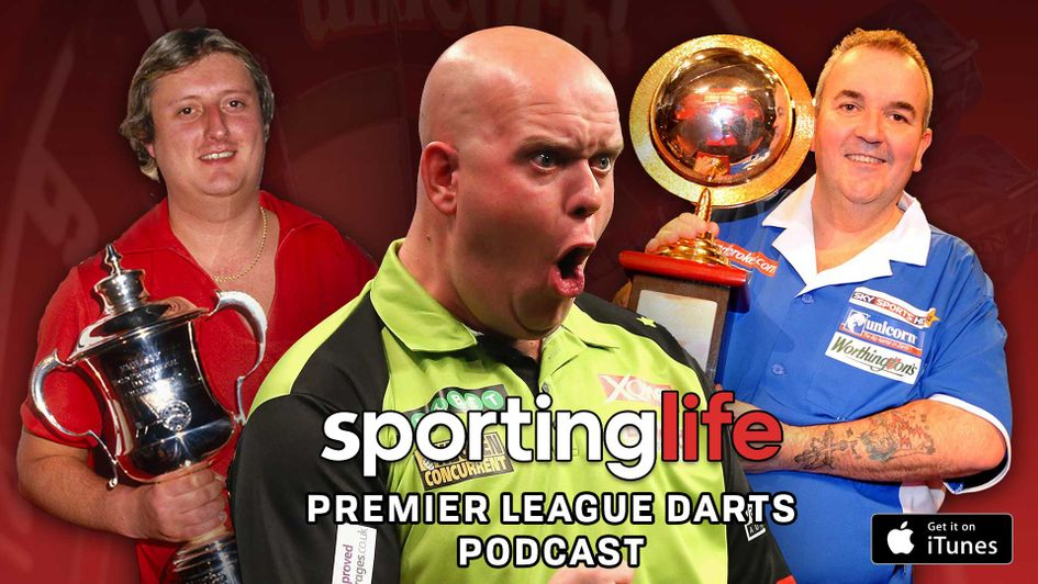 Which player in their prime would come out on top? Listen to our verdict in the Sporting Life Darts Podcast