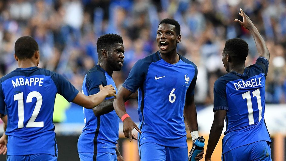 Paul Pogba: Leads a talented France squad