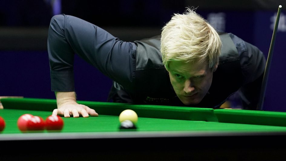 Neil Robertson battled from behind to lead Ronnie O'Sullivan