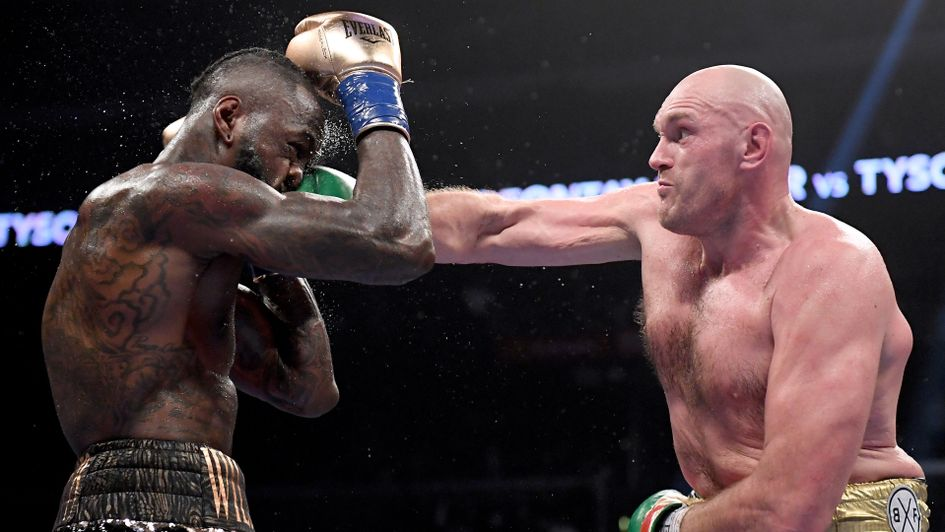 Deontay Wilder and Tyson Fury put in an incredible show of punching