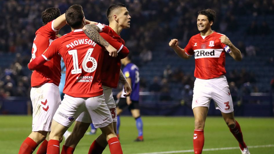 Mo Besic scored for Middlesbrough against Sheffield Wednesday