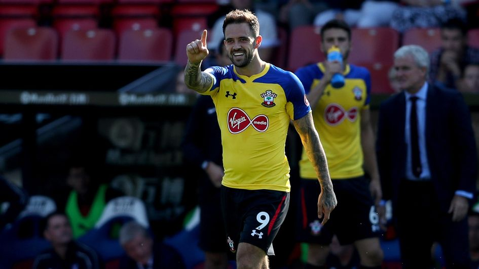 Danny Ings celebrates after scoring for Southampton
