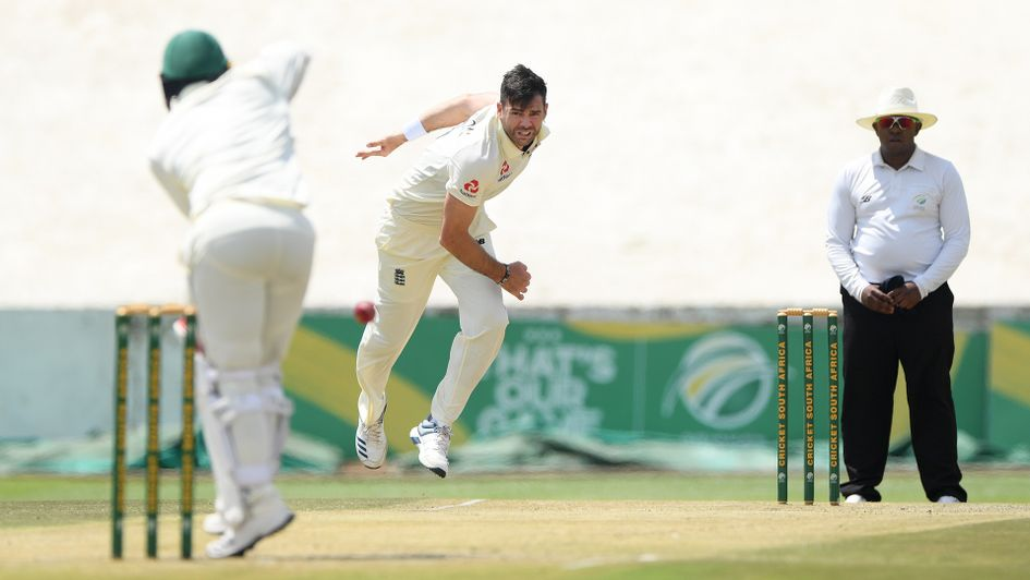 James Anderson made a welcome return to the England side
