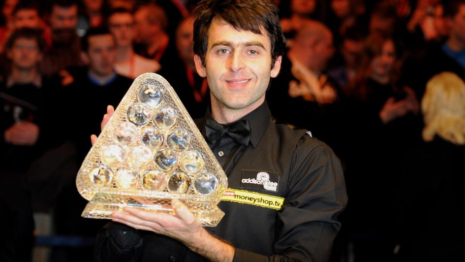 Ronnie O'Sullivan winning the 2009 Masters
