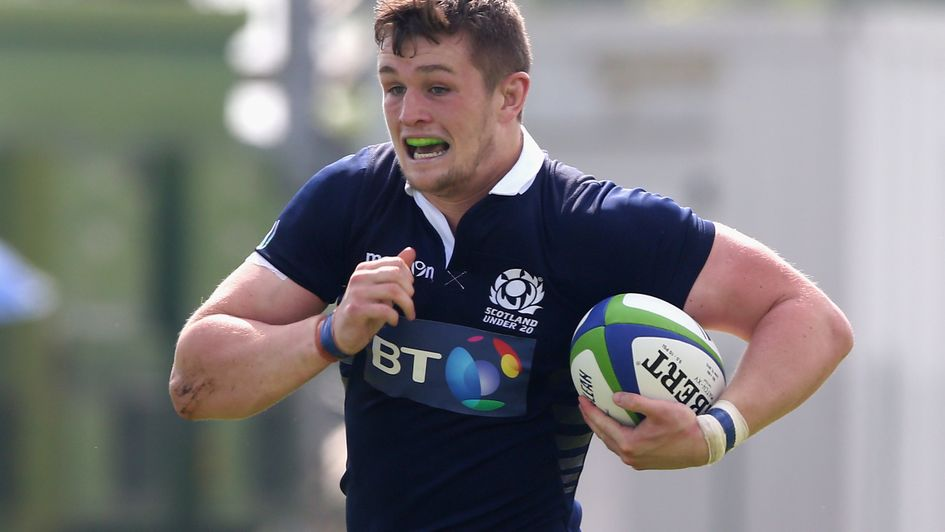 Magnus Bradbury: called up by Scotland