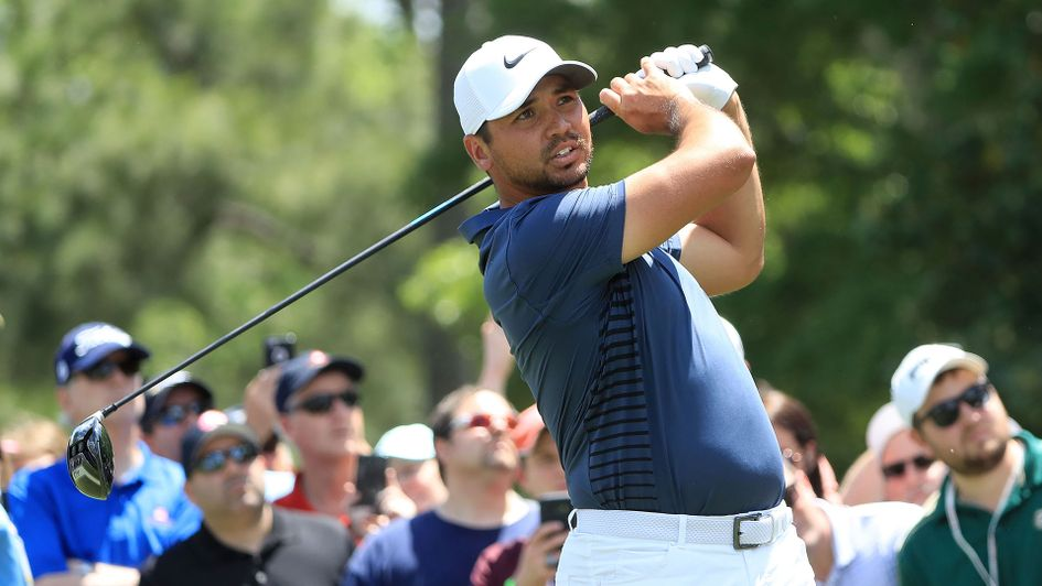 Jason Day in action at Quail Hollow