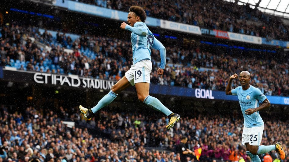 Image result for leroy sane city 5-0 liverpool