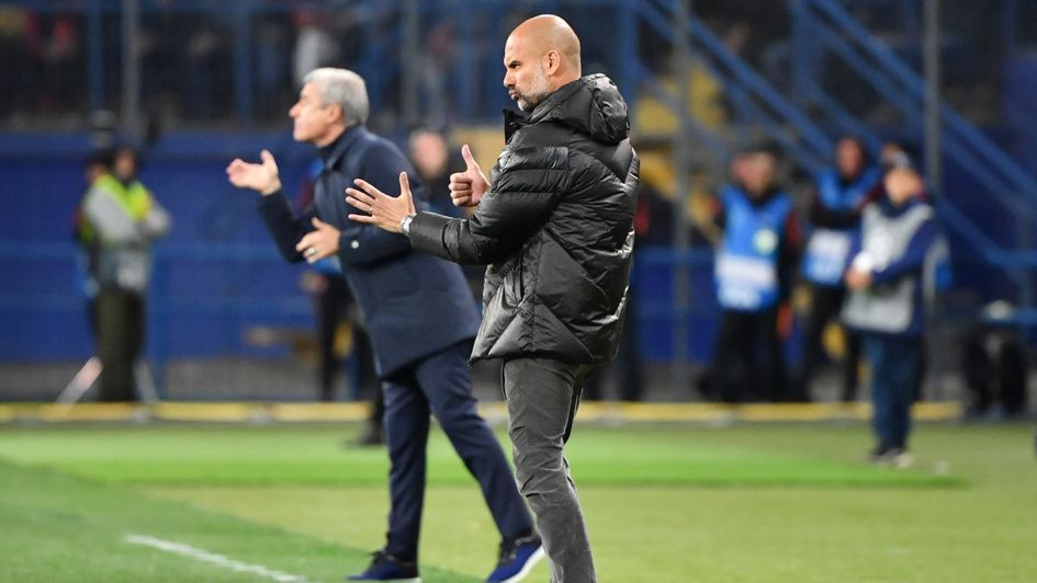 Pep Guardiola: Pleased with Manchester City's performance against Shakhtar
