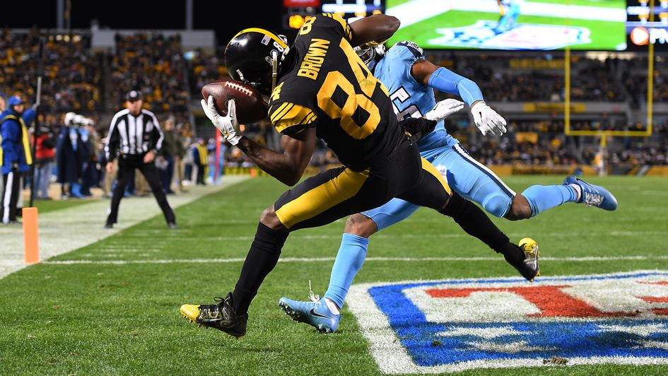 A remarkable TD catch from Pittsburgh's Antonio Brown