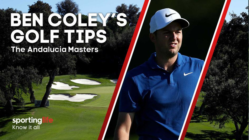 Ashley Chesters is just one of Ben Coley's tips for the Andalucia Masters