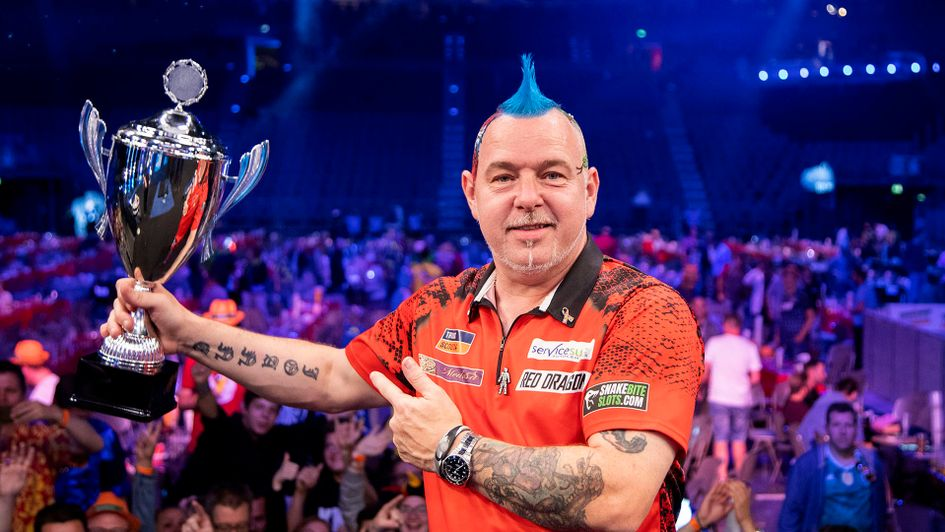 Peter Wright won the German Darts Masters (Picture: Kais Bodensieck/PDC Europe)