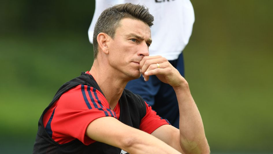 Laurent Koscielny: Arsenal defender, pictured in pre-season, reportedly wants out after nine years