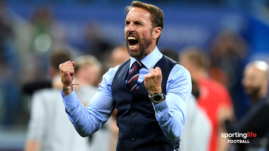 Gareth Southgate's England side have moved up to sixth in the World Rankings