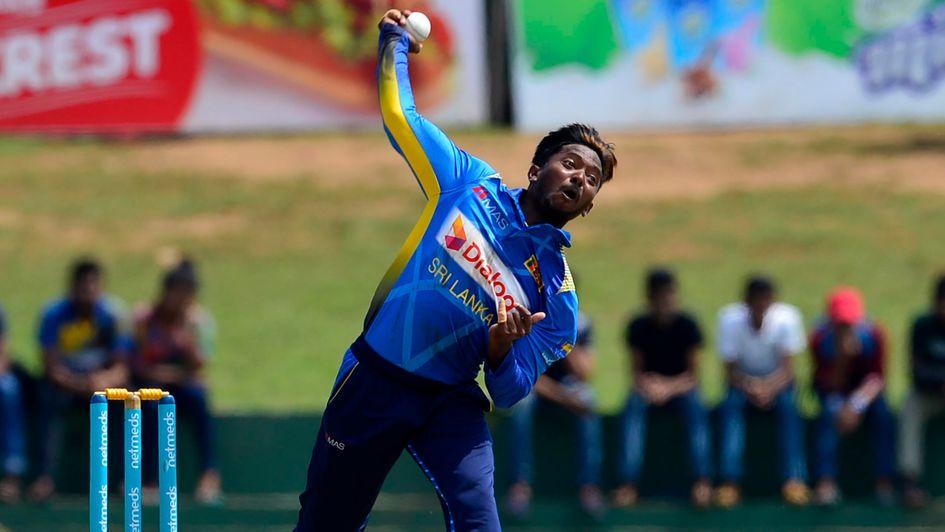 Sri Lankan spinner Akila Dananjaya reported for suspect bowling action