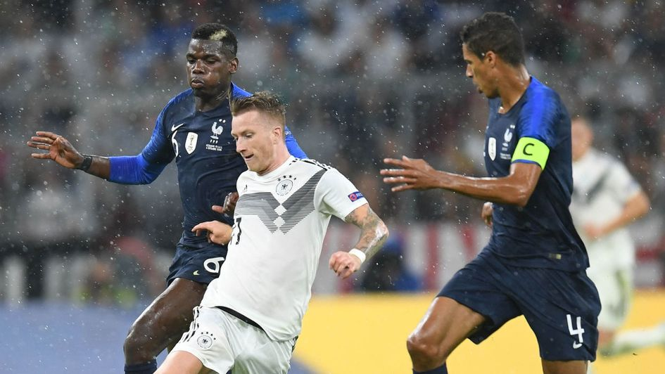 Germany and France in action in the Nations League