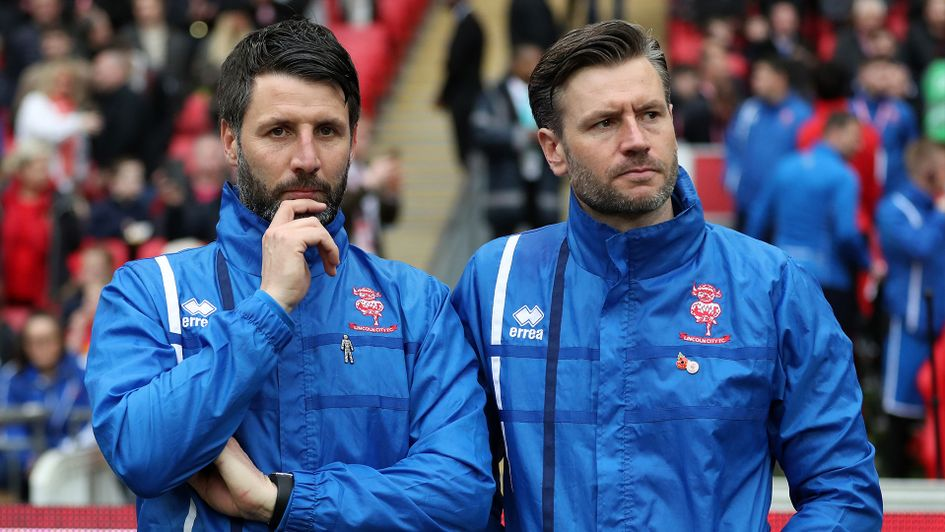 Danny Cowley, left, and brother Nicky, are in high demand after their success at Lincoln