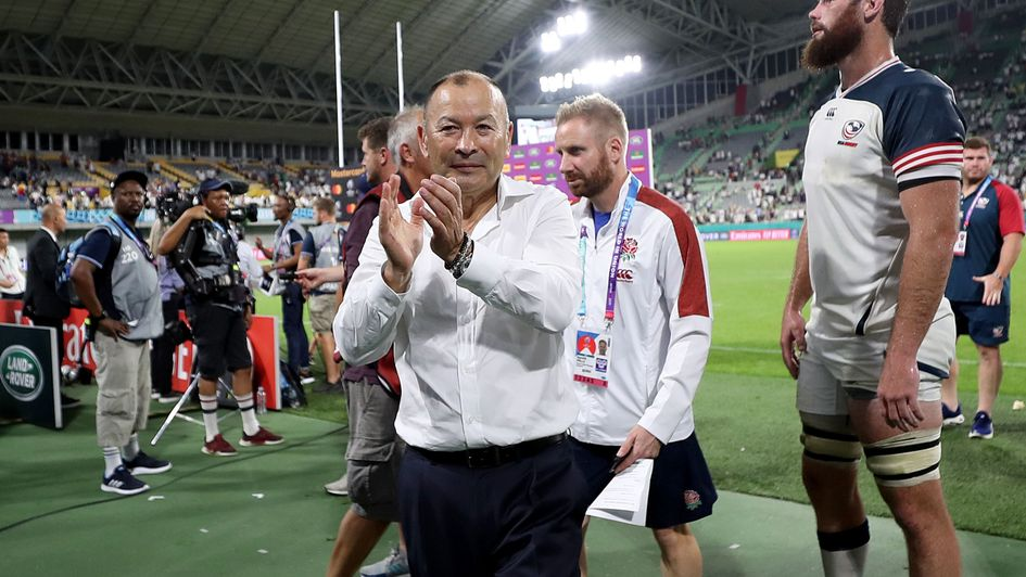 England coach Eddie Jones after England's 45-7 victory over the USA