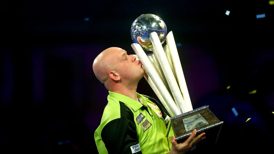 Michael van Gerwen: Ended the season by winning the 2019 PDC World Darts Championship