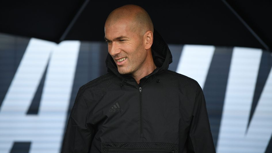 Zindedine Zidane: The 46-year-old is without a club after leaving Real Madrid