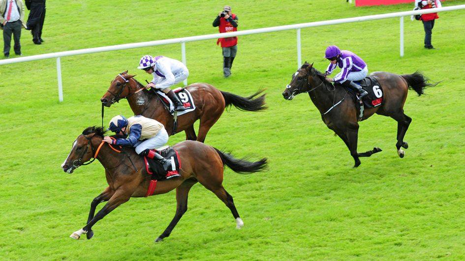 Beckford wins the Railway Stakes