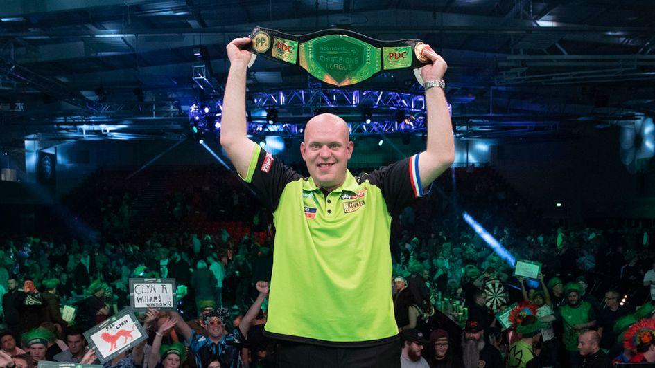Darts Results Michael Van Gerwen Beats Peter Wright In The