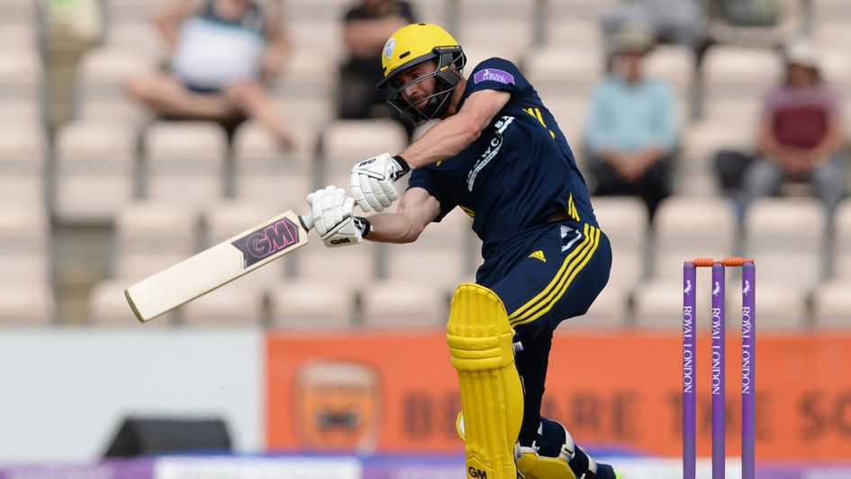 James Vince fired Hampshire into the final