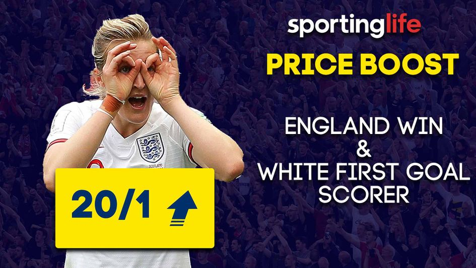 The Sporting Life Price Boost for England's World Cup semi-final against USA