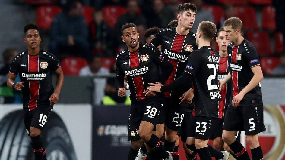 Kai Havertz scored Leverkusen's first against Larnaca