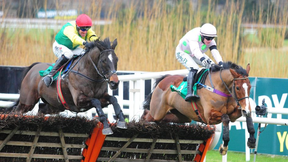 Supasundae and Faugheen jump the last as one