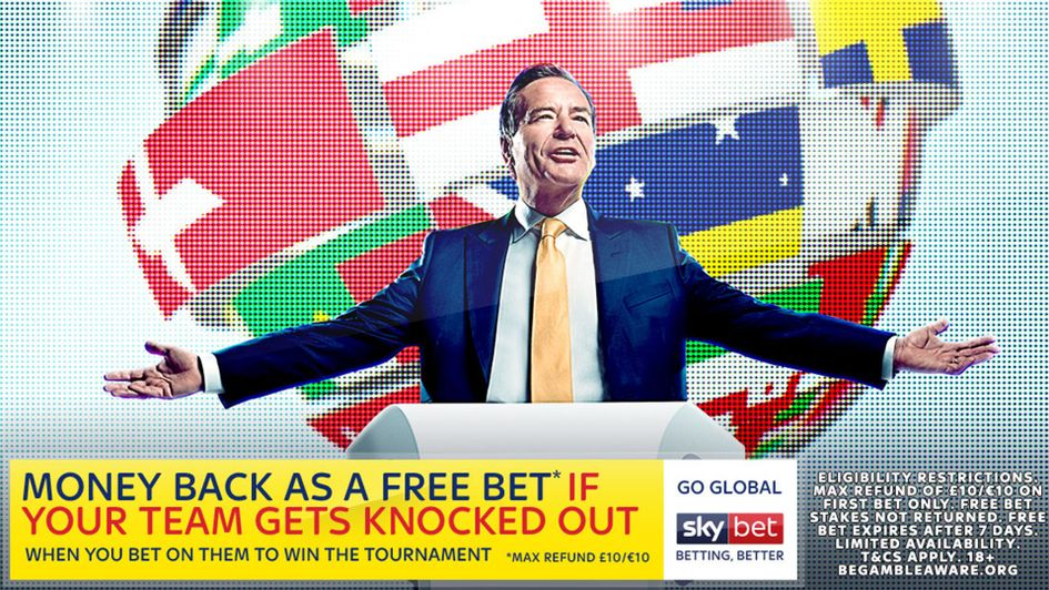 Sky Bet's World Cup offer: Money back as free bet if your team goes out