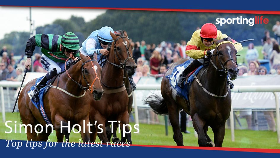 Check out Simon Holt's Saturday tips