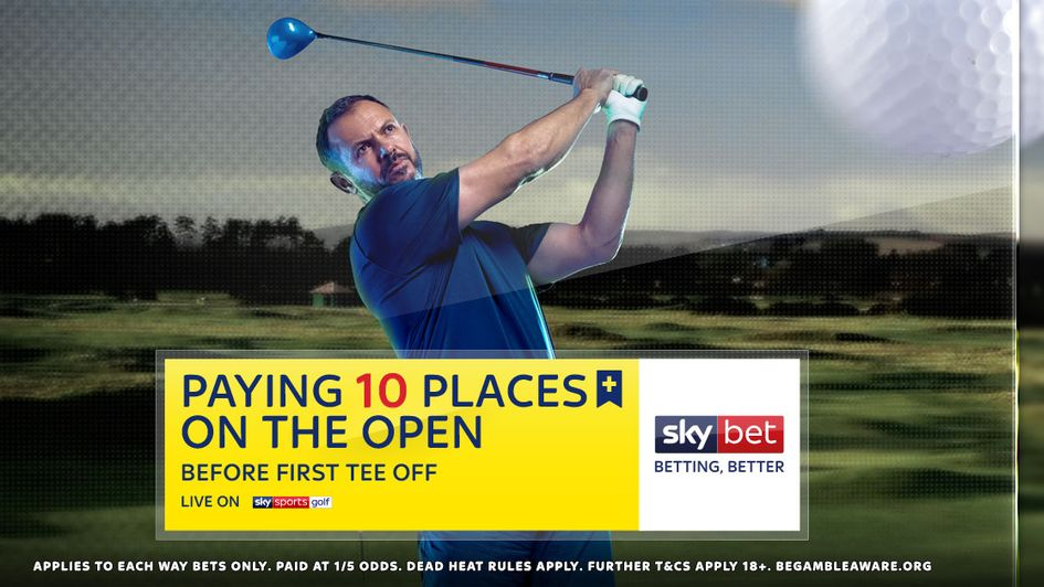 sporting life open golf betting odds