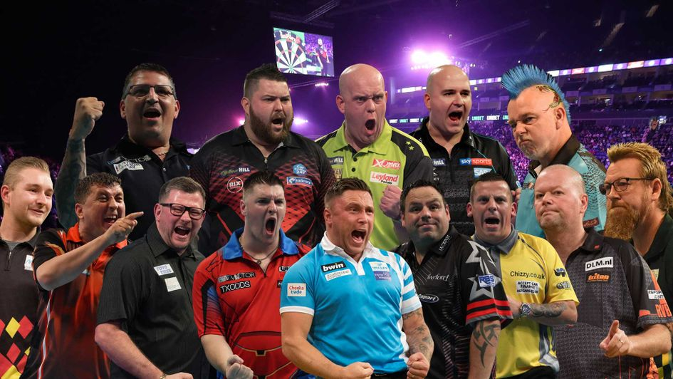 Which 10 from these possible contenders will make the Premier League Darts line-up?
