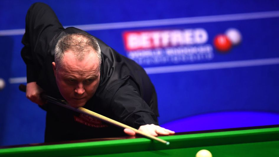 John Higgins bagged a Crucible 147 break against Kurt Maflin