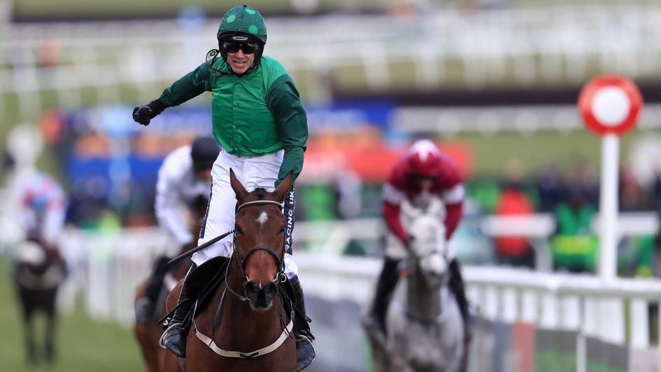 Sheer joy for Ruby Walsh as Footpad wins the Racing Post Arkle