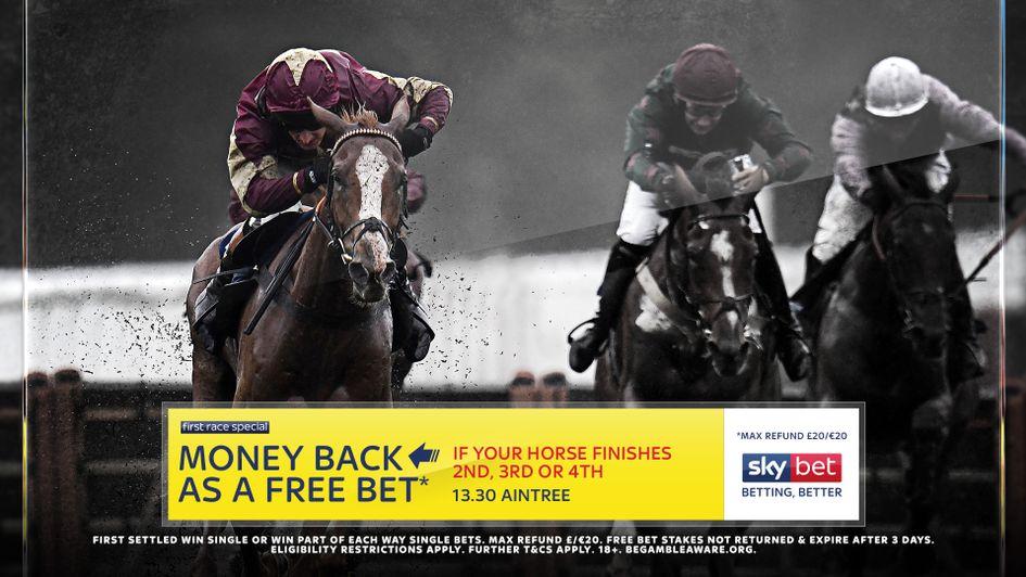 Sky Bet's Money Back offer for the Becher Chase