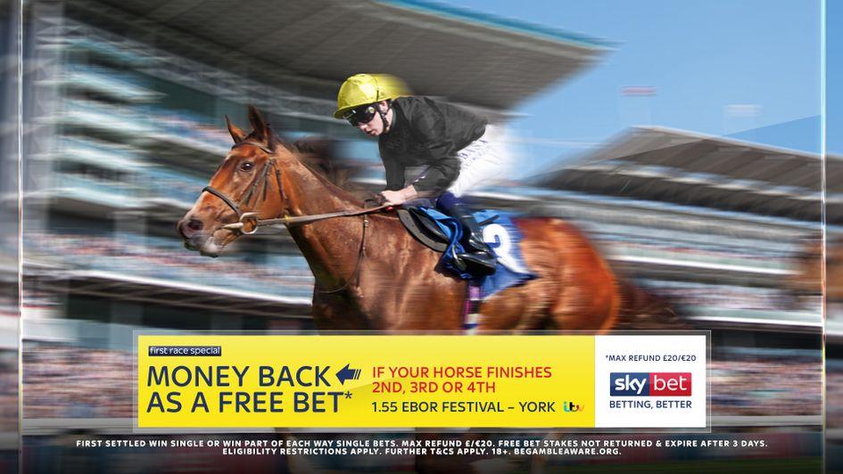 Sky Bet's York Money Back offer