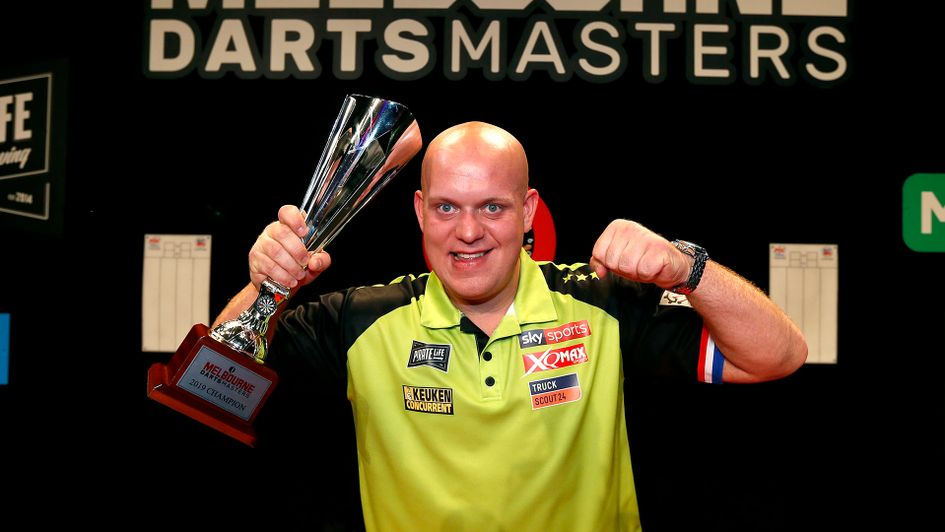 Darts Results Michael Van Gerwen Beats Daryl Gurney 8 3 To Win Melbourne Darts Masters Title