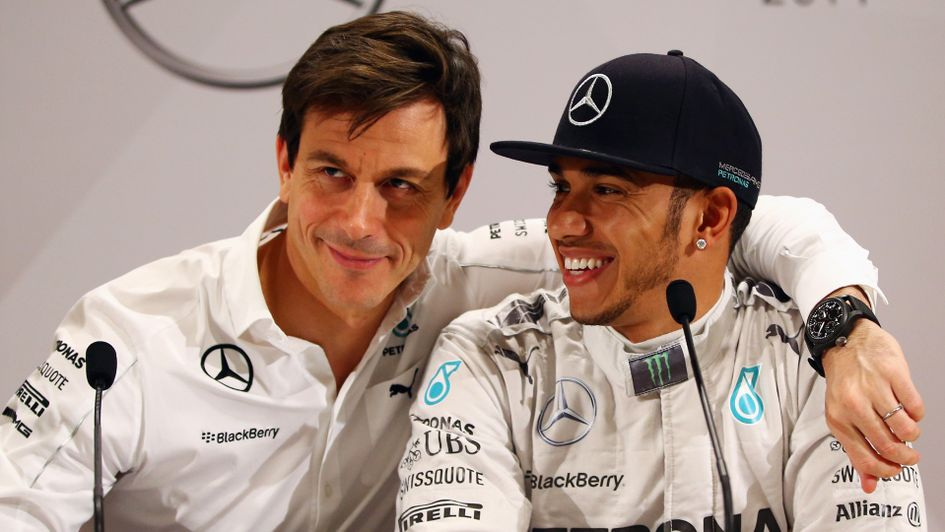 mercedes boss toto wolff says lewis hamilton can become the greatest f1 driver of all time. Black Bedroom Furniture Sets. Home Design Ideas