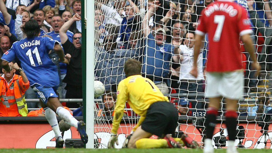 2007: Chelsea 1 Manchester United 0 (after extra time)