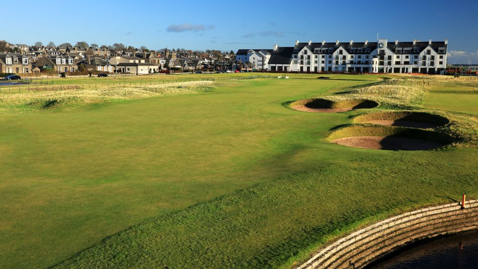 Carnoustie, home of the 2018 Open Championship