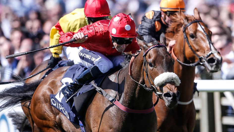 Mabs Cross wins the Palace House Stakes