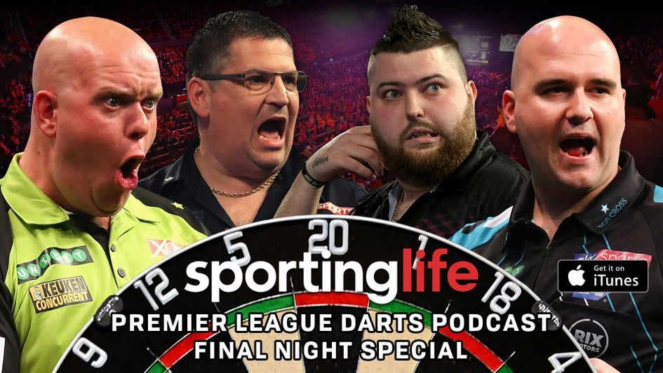 It's the final Sporting Life Darts Podcast of the Premier League season